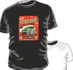 KOOLART PETROLHEAD SPEED SHOP GREEN FORD FOCUS RS mens or ladyfit t-shirt